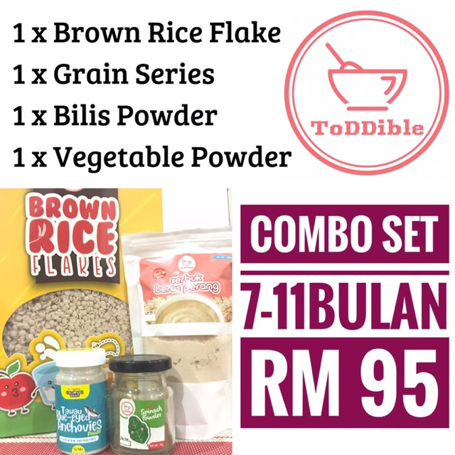 Toddible Combo Special Baby Instant Healthy Food!
