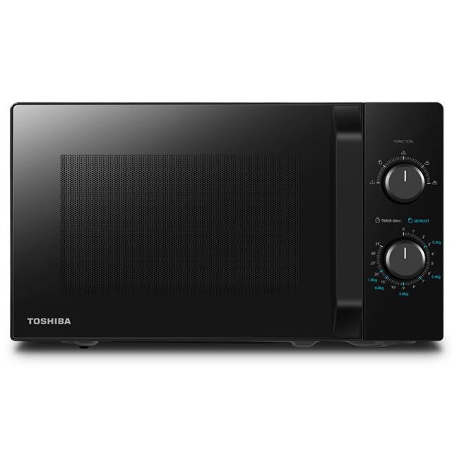 Toshiba (NEW MODEL 2020) Microwave Oven 21L MW2-MM21PF(BK) - TOSHIBA WARRANTY MALAYSIA