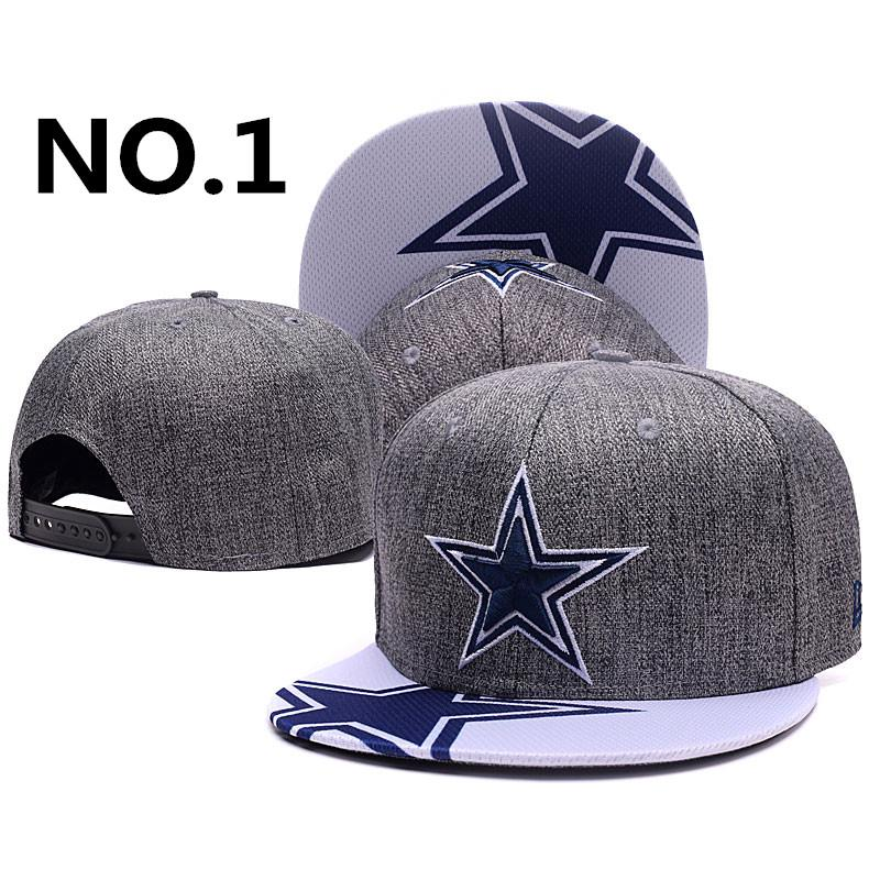 bc83bef18 NFL Dallas Cowboys cap Adjustable Hip-hop cap hat of men women ...