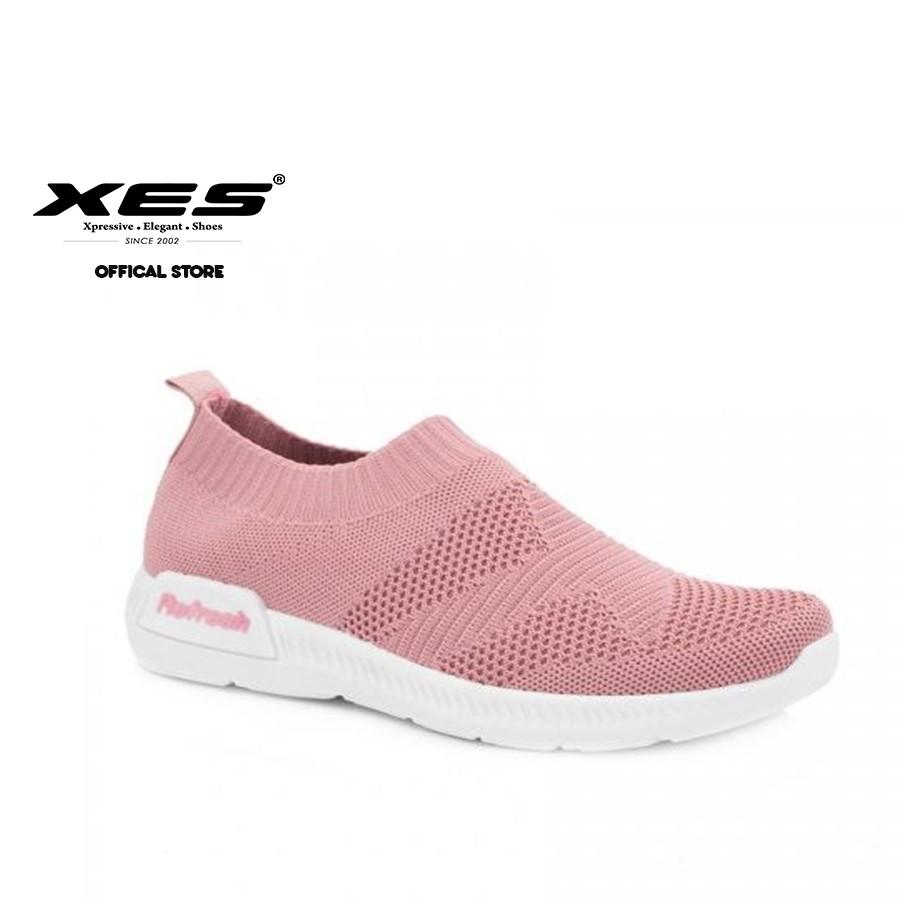gamma molto ambita di ultimo sconto nuovo stile di vita XES (Refresh) Ladies LCHCOL10 Black/Pink Sneakers   Shopee Malaysia