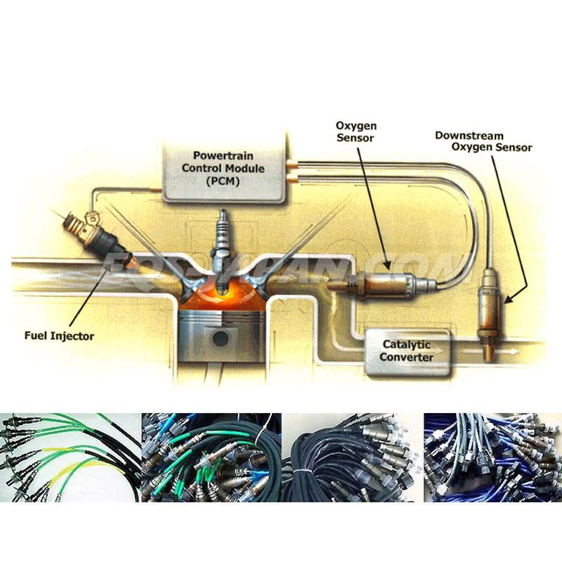 Downstream Rear O2 Oxygen Sensor for 03-07 Honda Accord 2.4L DX LX EX SE