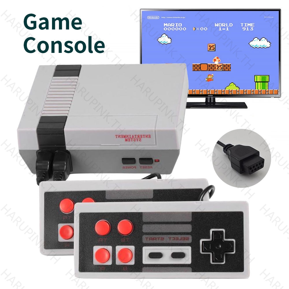 เครื่องเล่นวิดีโอเกมคลาสสิคย้อนยุค built - i