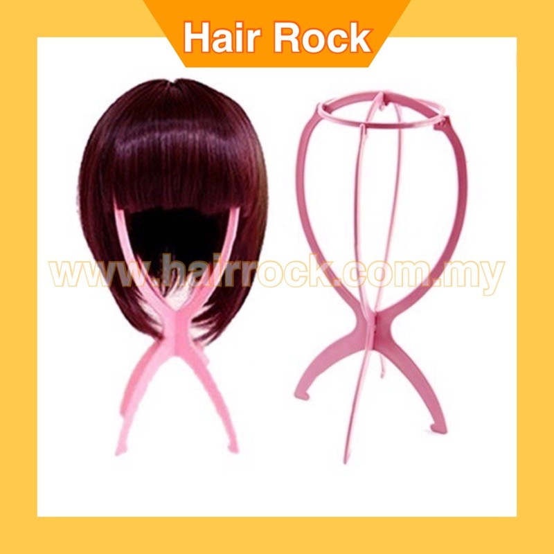 2pcs Foldable Wig Stand