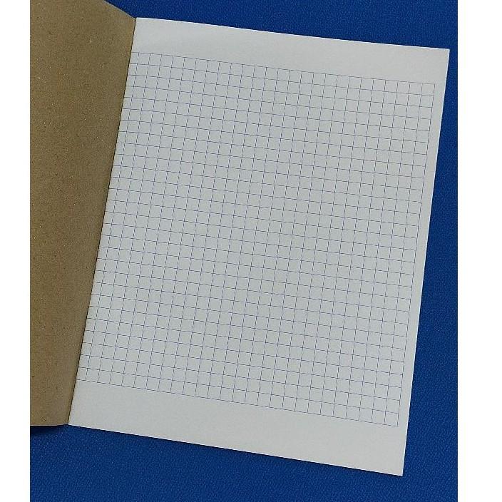 Kraft Cover Exercise Book / Buku Latihan 80 Pages