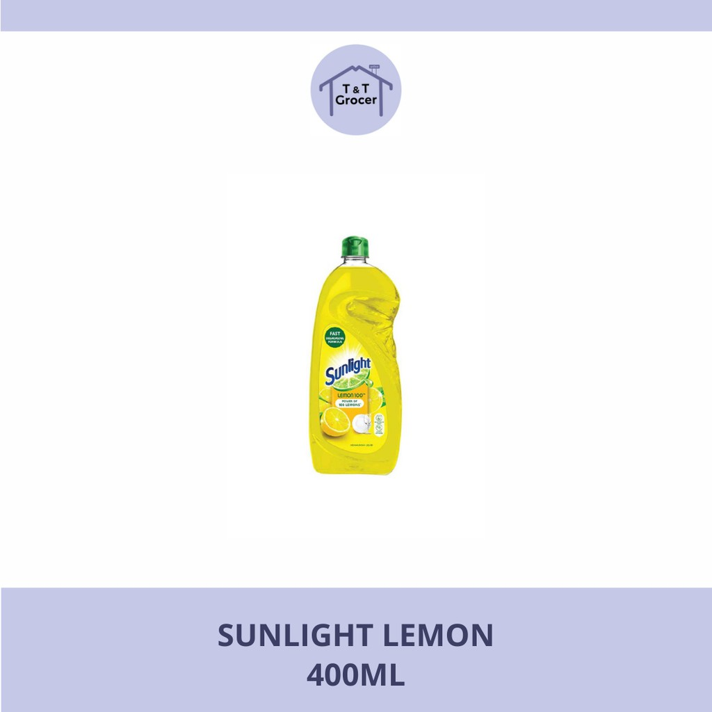 Sunlight Dishwasher 400ml (Lemon/ Lime)