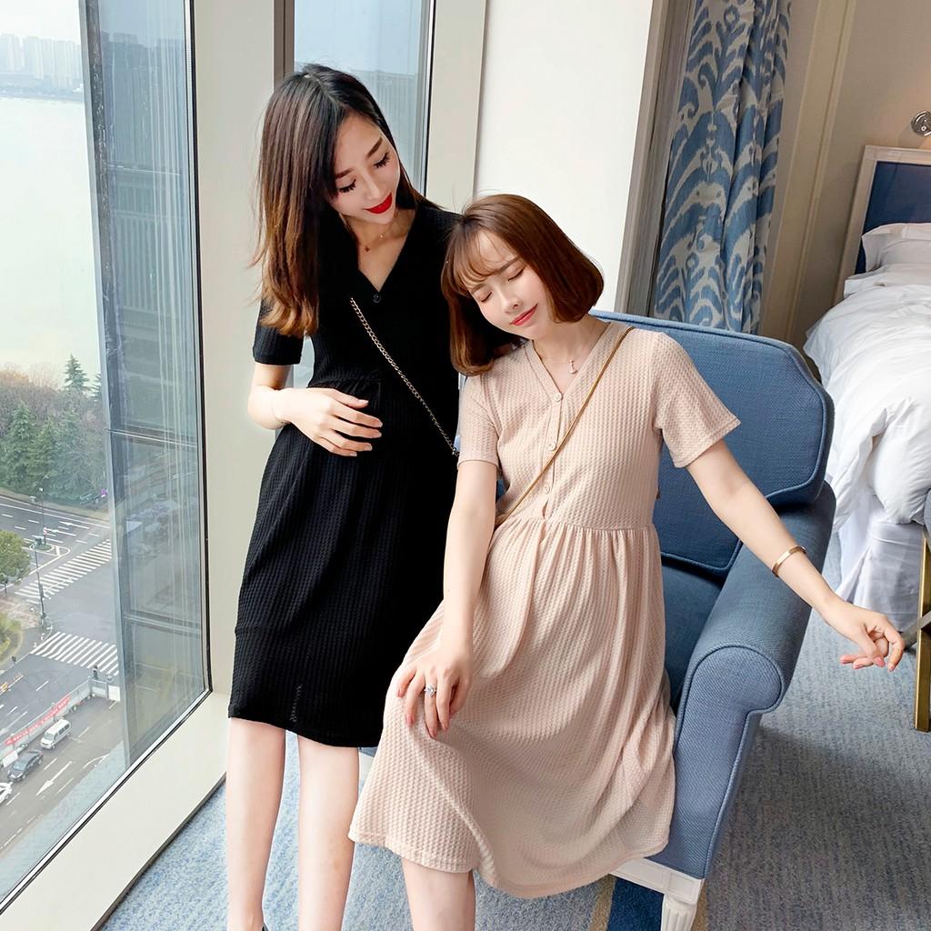 8167c59389c55 hot sale maternity dress autumn clothes long dress pregnant skirt