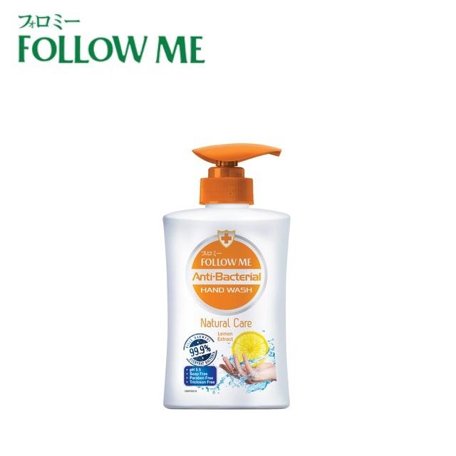 FOLLOW ME Anti Bacterial Hand Wash - Natural Care (450ml)