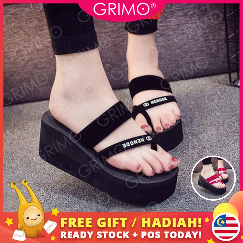 806a328c6bc Ready Stock Women Sandals 2019 Summer Sandals Slippers Casual Shoes Women  Shoes