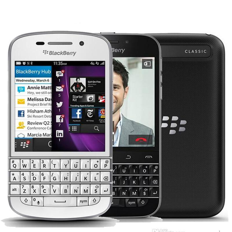 Blackberry Q20 3 5 Inches 16GB ROM 2GB RAM Mobile Phone 4G LTE 8MP  Bluetooth WIFI Smartphon