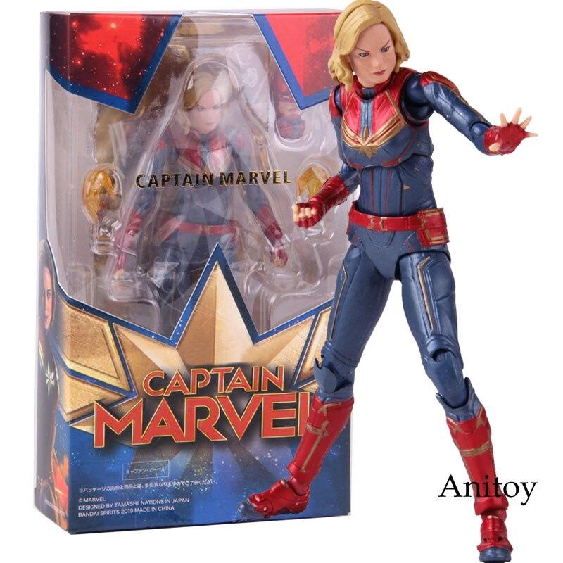 SHF S.H.Figuarts Avengers Captain Marvel PVC Action Figure Gift ToysIn Box  New