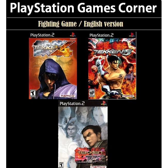 Ps2 Game Tekken 4 5 Tag Tournament English Version Fighting