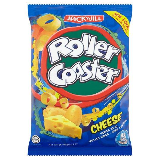 JACK n\' JILL ROLLER COASTER CHEESE POTATO RINGS 60G