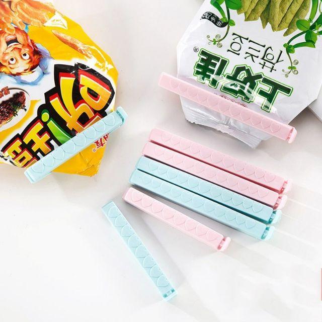 3x Plastic Bag Clip Sealing Clamp Food Plastic Clip