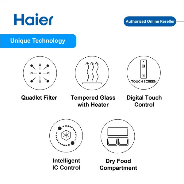 Haier LC-138WB 145L Digital Ice Bar Freezer with R600a Refrigerant