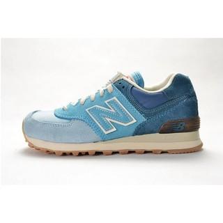 new product f97bd b0981 authentic new balance 574 nb574 blue color men women sport ...