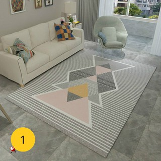 MICHI Home Carpet&Tatami Karpet  Rug Modern geometric simplicity style Carpet Floor Mat