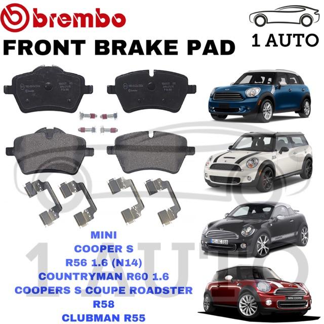 Genuine Brembo Front Brake Pad Mini Cooper R56 Countryman R60