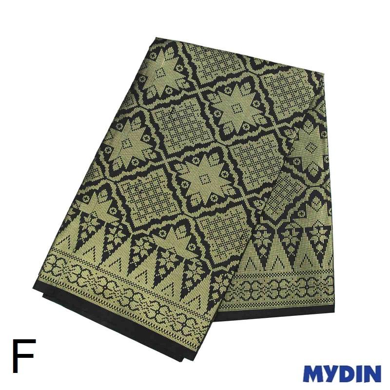 "Men Sampin - Gold on Black with Designs (2m X 32"") 0819SRLXBP01 - F #Raya"