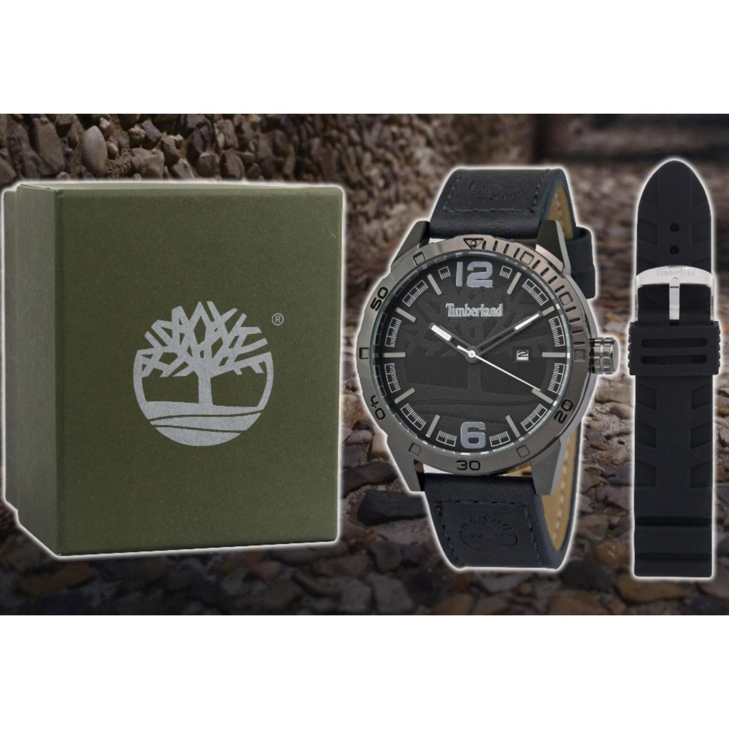 TIMBERLAND LEATHER/RUBBER STRAP(Clearance Sale)