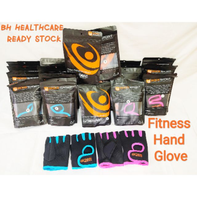[READY STOCK]Fitness Hand Glove/Weight Lifting Hand Glove/Fitness Glove/Training Glove/Gym Glove/===HOT SALE ITEM===