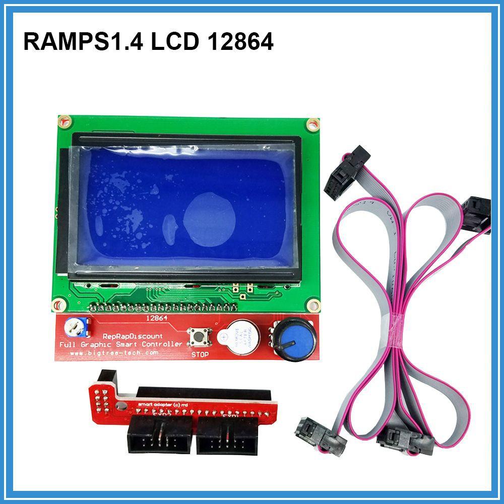 Board 12864 Lcd Display Smart Controller Control Screen Ramps14 Shopee Malaysia