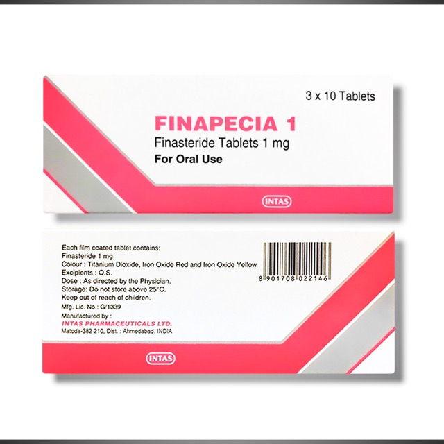 Finasteride Finapecia Finasterride Tablets 1mg Kkm Approved Shopee Malaysia