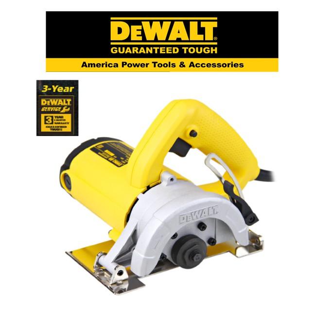 DEWALT DWE862- 110MM H-D TILE CUTTER