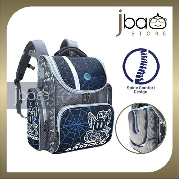 2020 Astrokid Kid Lightweight School Bag Astrokids 3D Foam Cushion Backpack Spine Comfort design AKR-801901-NV Navy Blue