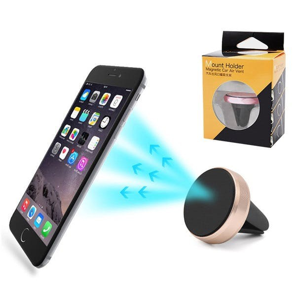 Remax RM-C24 Universal Air Vent Car Mount 360 Rotation Phone Holder | Shopee Malaysia