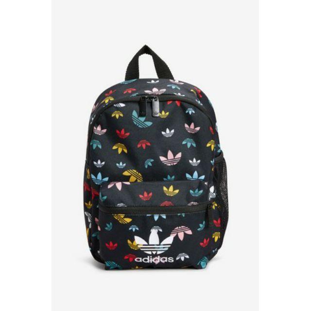 lavandería carrete Ya que  Adidas Originals Kids Multi Logo Trefoil Backpack | Shopee Malaysia