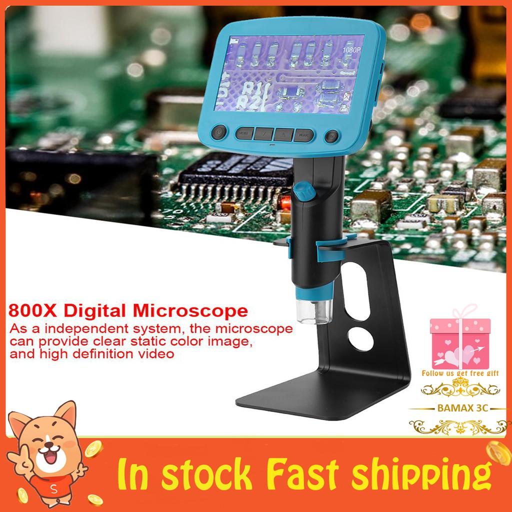 800X Digital Microscope for PCB Motherboard Phone Repair