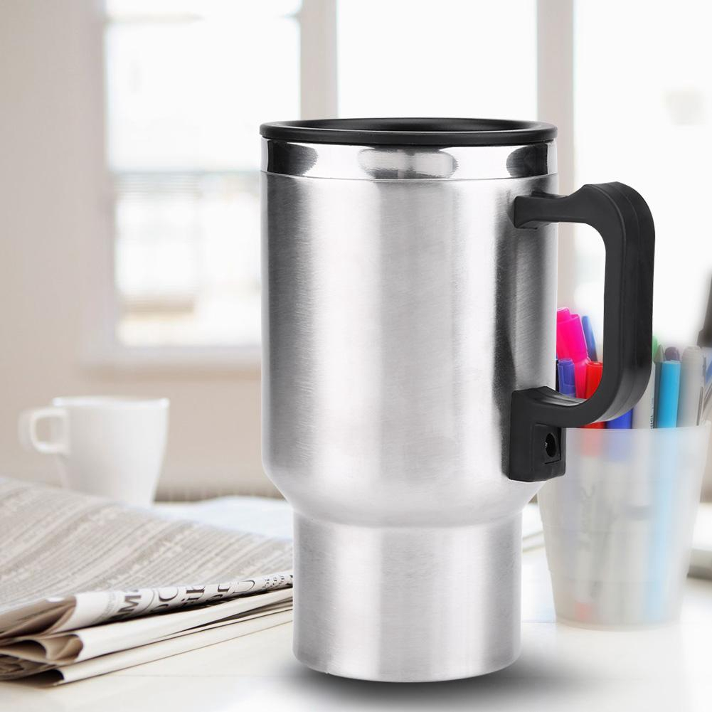 12V 450ml Electric In-car Stainless Electric Water Kettle
