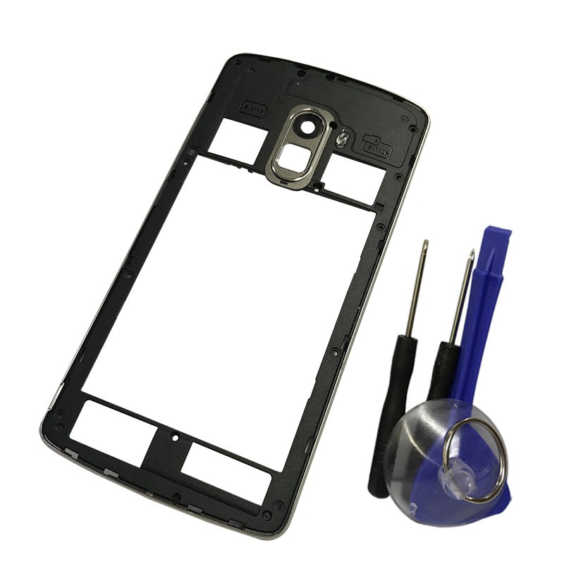 Middle Frame Housing Case For Lenovo K4 NOTE A7010 With Antenna Camera Lens
