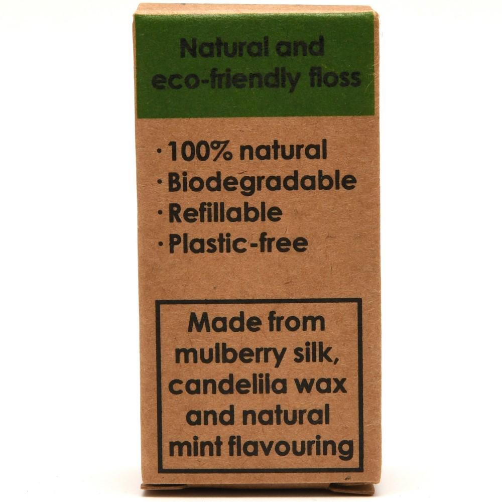 Bambun Dental Floss 30m x2 Refill Pack - Natural Mint