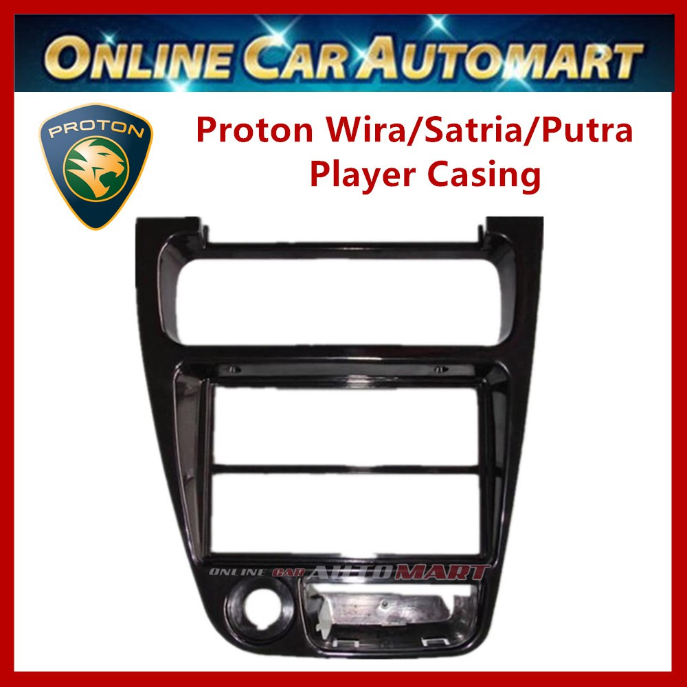 Proton Wira/Satria/Putra/ Single,Double Din Car CD or DVD Player Casing Panel