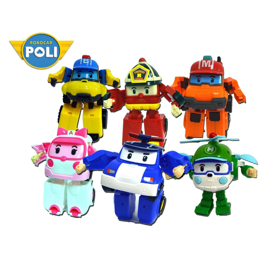Robocar Poli Spooky Diecasting Not Transformers Shopee Malaysia