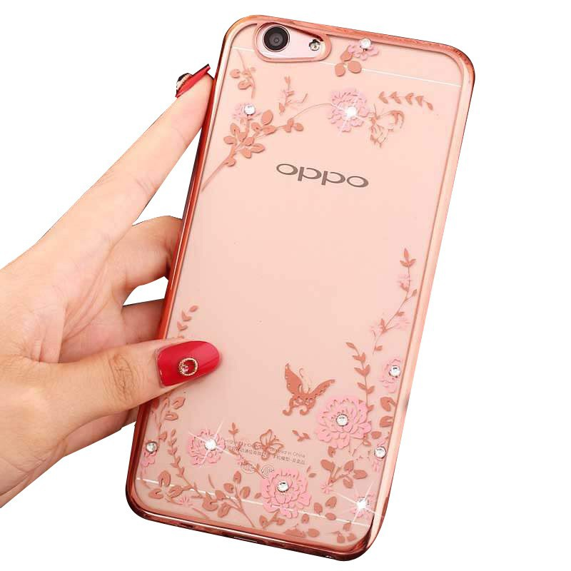 OPPO A3 / A3S Original Casing Stand Smart Clear Mirror View Flip Phone Case | Shopee Malaysia