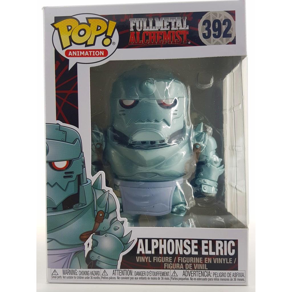 Alphonse Elric Collectable Vinyl Figure #392 Funko Fullmetal Alchemist Pop