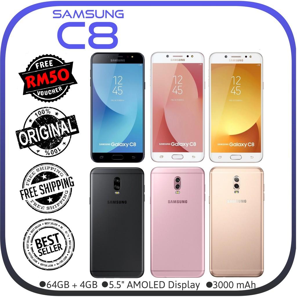 [CNY 2021] Ori Samsung C8 @ J7 Plus C7100 [64GB + 4GB RAM] Refurbished Like New [1 Month Warranty]