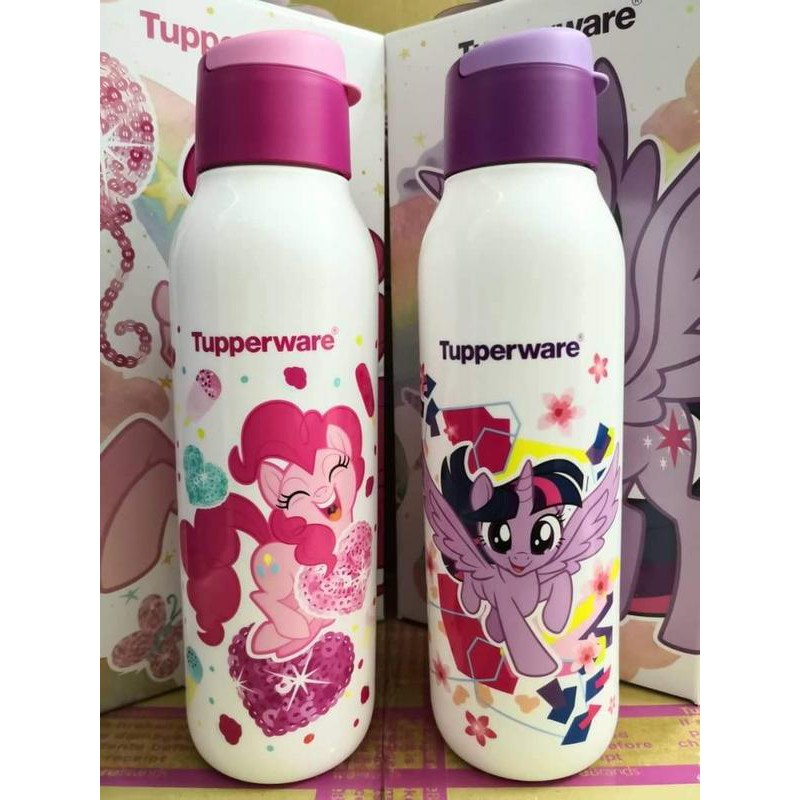 LIMITED EDITION Tupperware Little Pony Eco Bottle 750ml BPA Free Botol Air