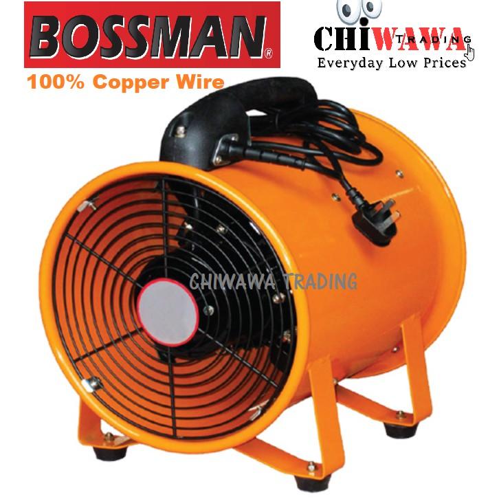 BOSSMAN BDF12 520W Portable Ventilator Duct Fan (Orange)