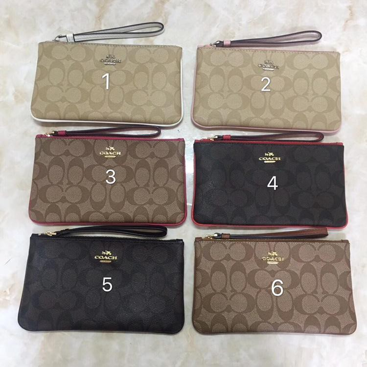 new style c1e60 6a731 Today's specials COACH F58695 Women's wallet Women's wallet Multi Purpose  Pouches Zip Purses