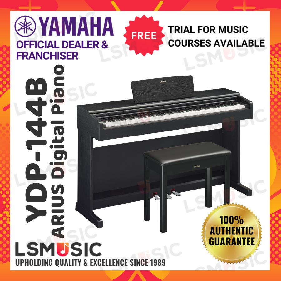 Yamaha Arius YDP-144 88 Keys Digital Piano - Black Walnut (YDP144 B/ YDP-144B)