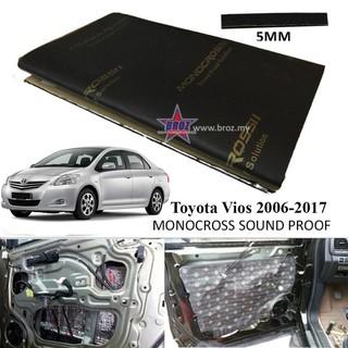 Toyota Vios Old 2002-2006 Aluminium CARFIT Bonnet Sound