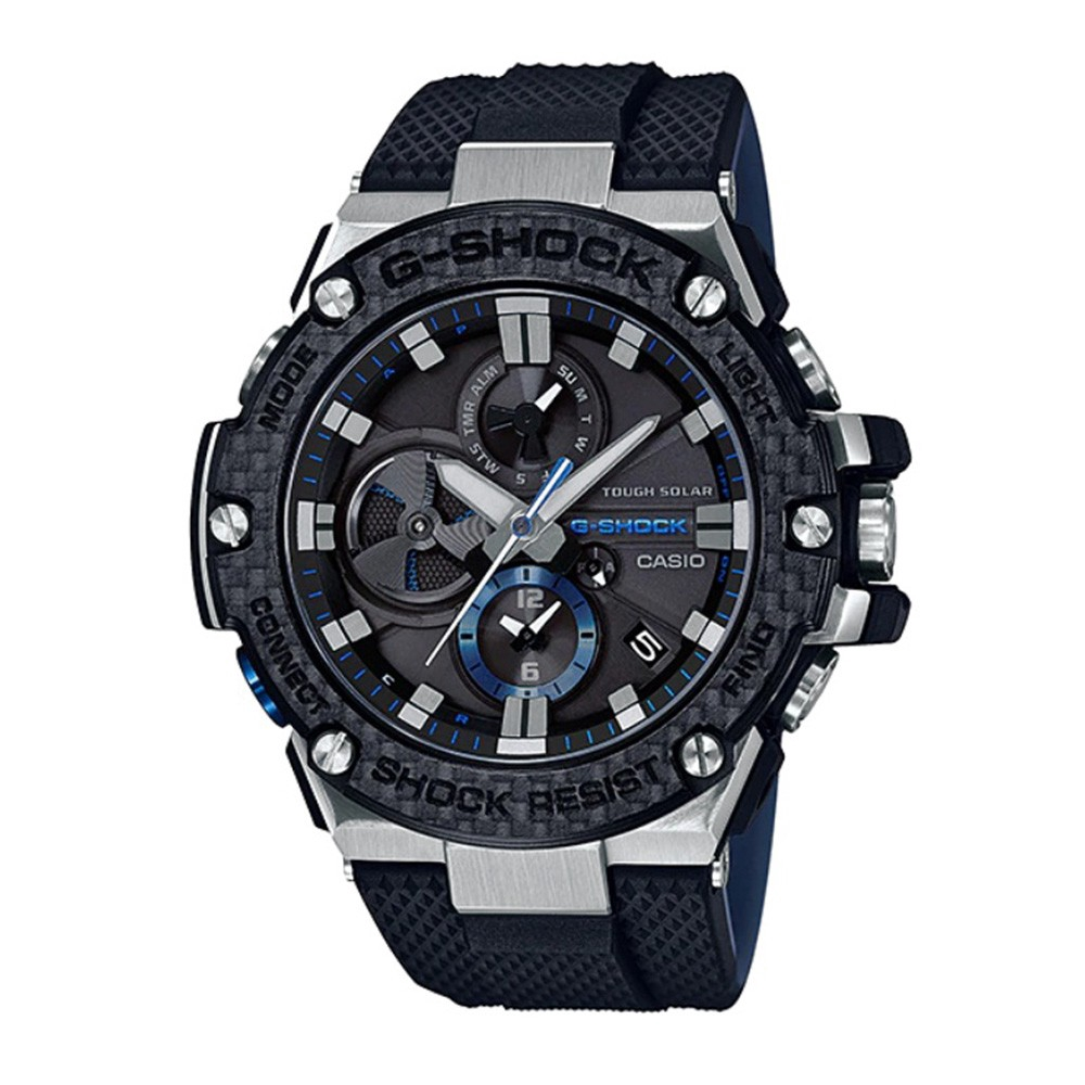 b5973a337419 Casio G-Shock G-STEEL GST-S300G-1A9 Tough Solar Watch - Black + Gold |  Shopee Malaysia