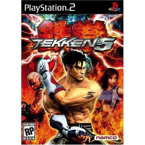 PS2  Tekken 5 / Tekken 4 / Tekken tag Tournament [Burning Disk]