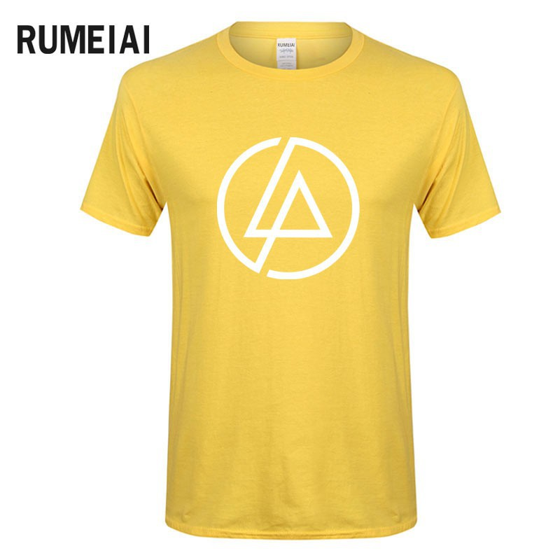 New Rumeiai 2019 Men T Shirt Lincoln Linkin Park T-Shirt Cotton Linkin  Clothes Short Tops Tees