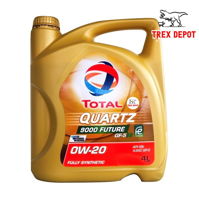 Total Quartz 9000 Future GF-5 Fully Synthetic Engine Oil 0W-20 (4L)