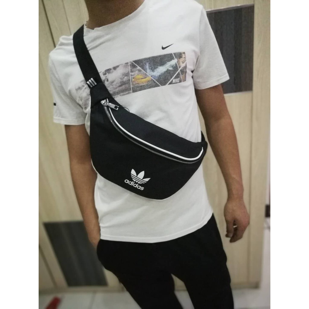 9d54df853add Adidas Chest Waist Bag- Women Men Crossbody Beg Travel Sport Pouch Bags
