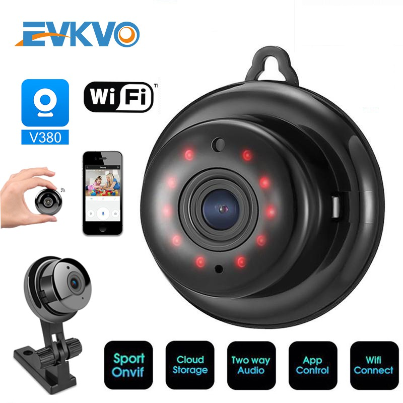 1080P HD 2MP Panoramic Hidden Spy WiFi IP Camera CCTV Network Security Cam Audio